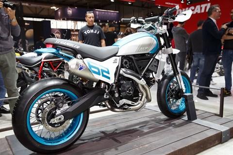 Ducati Scrambler Motard und DesertX Concept auf der EICMA 2019
