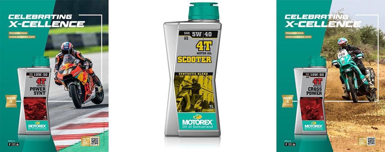MOTOREX präsentiert 1 Liter Flaschen X-Form