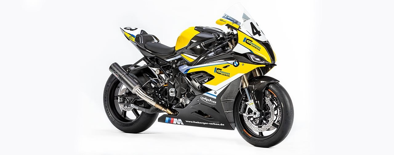 BMW S 1000 RR Racing by Ilmberger Carbon und alpha Racing