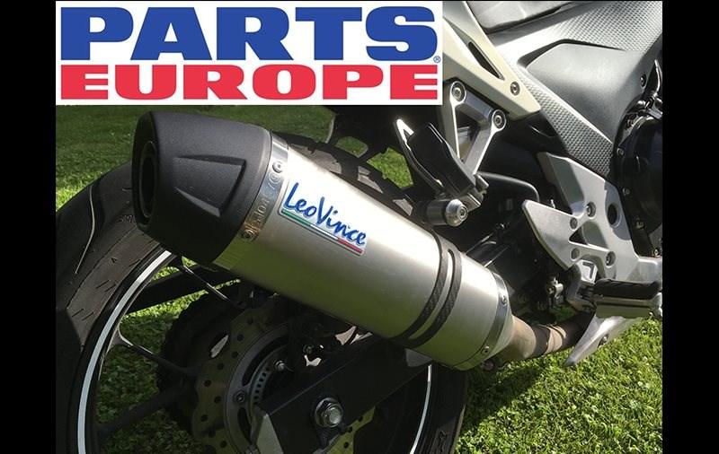 Ab 2020 gibt´s LeoVince bei Parts Europe