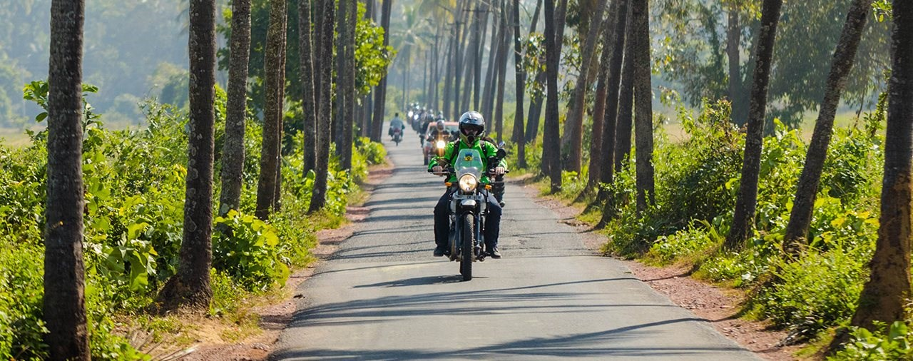 Royal Enfield Himalayan - Test in Indien
