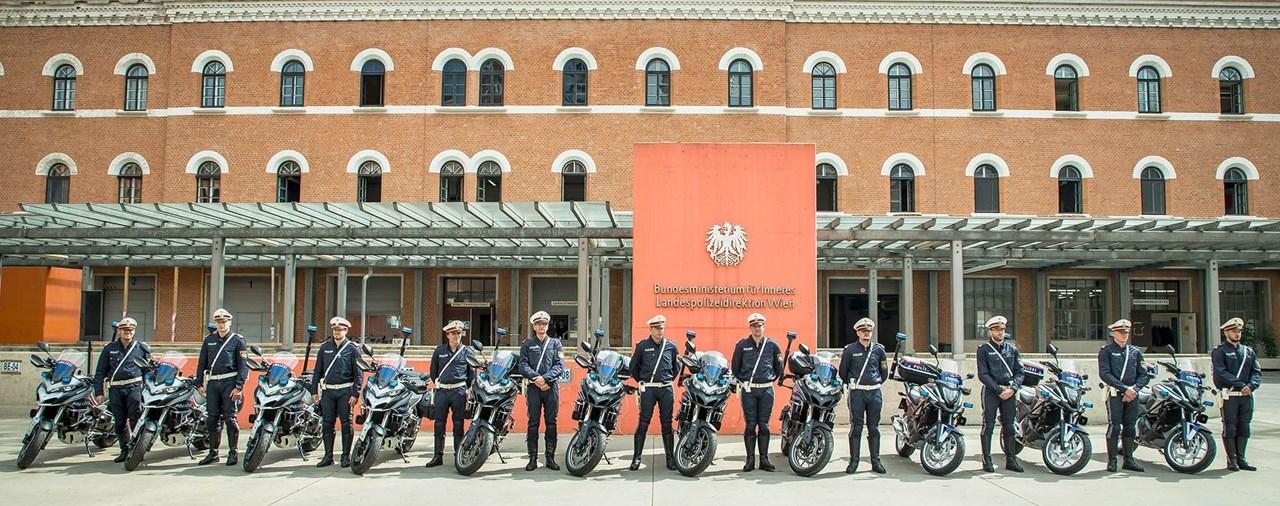 Diese Motorräder fährt die Polizei