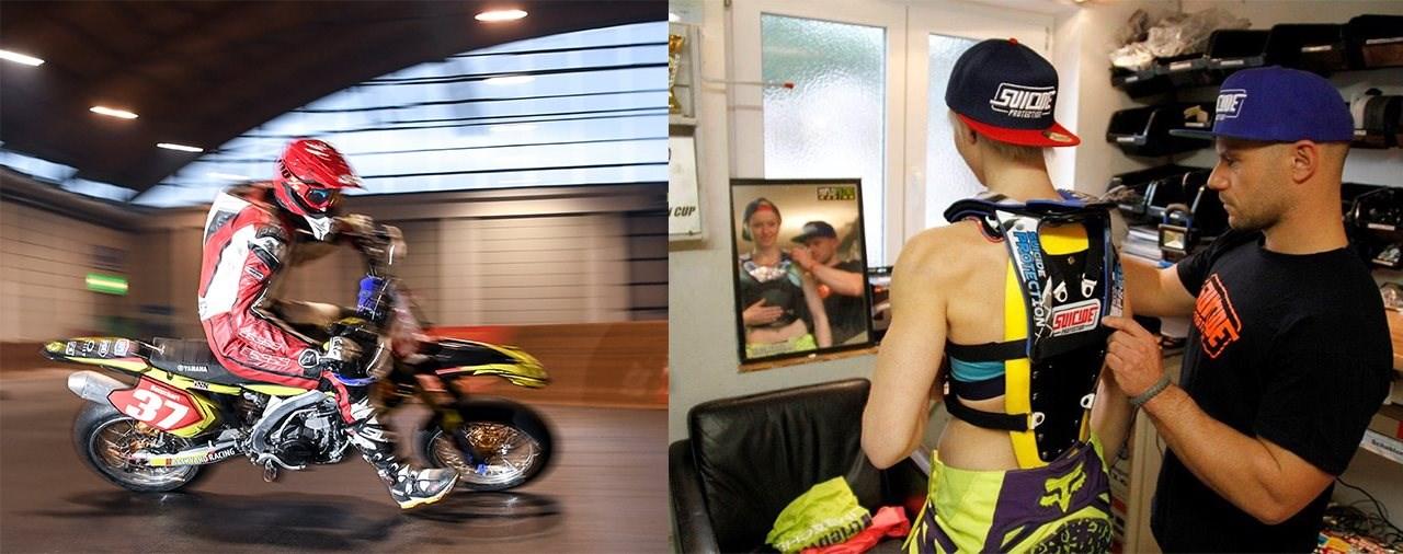 Sicherheit ist käuflich - auf der Motorradwelt Bodensee