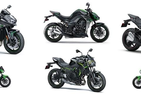 Preise für Kawasaki Z-Modelle 2020