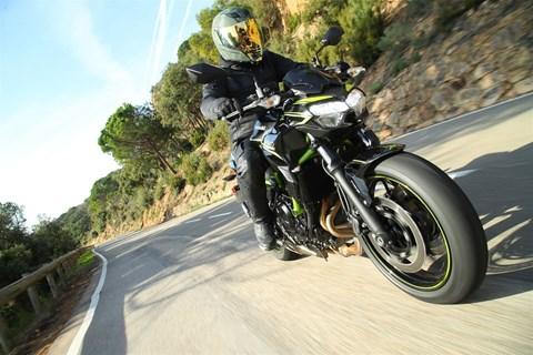 Kawasaki Z650 2020 Test