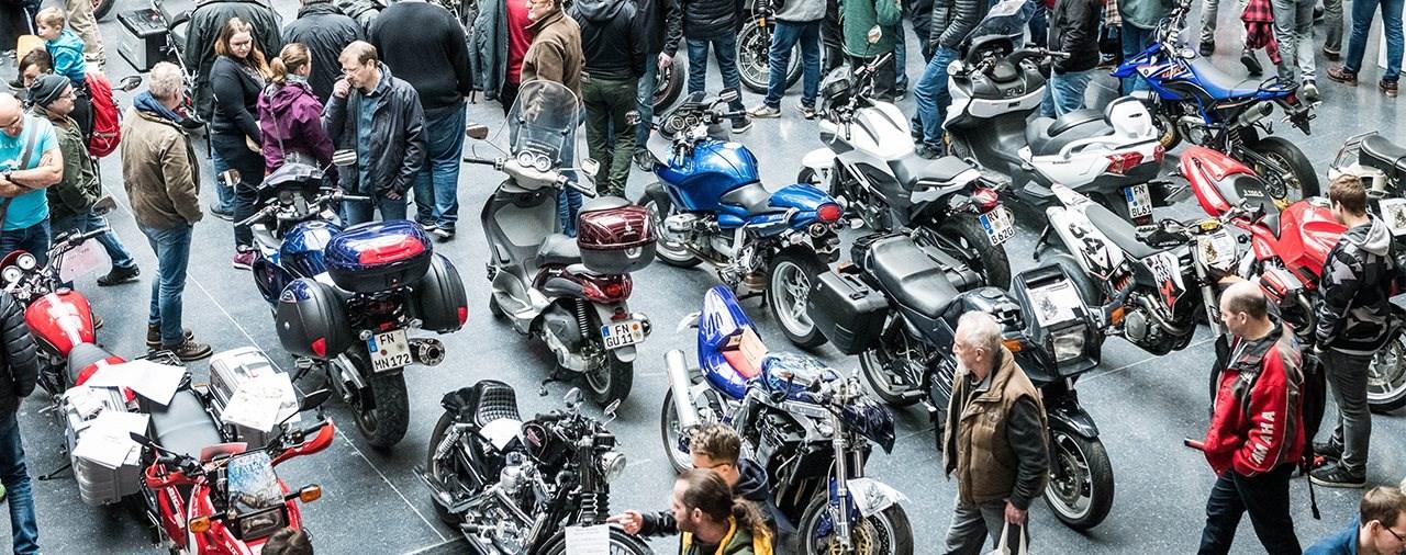 Auf Touren kommen - 24. bis 26. Jänner 2020 Motorradwelt Bodensee