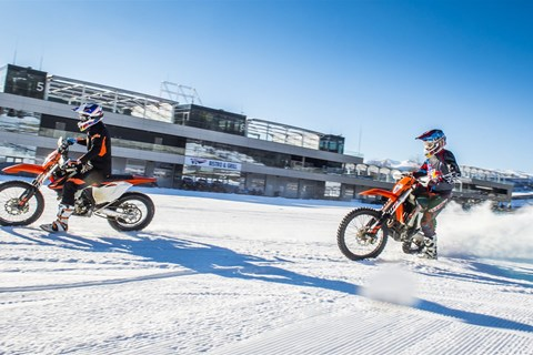 "2. Enduro ""Snow-Attack"" am Spielberg"