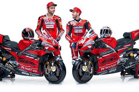 Ducati präsentiert das MotoGP Team 2020
