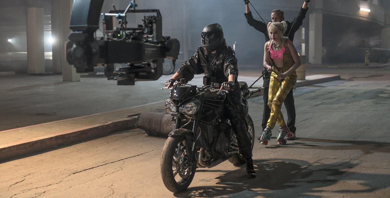 Harley Quinn setzt 2020 auf die Triumph Street Triple RS!