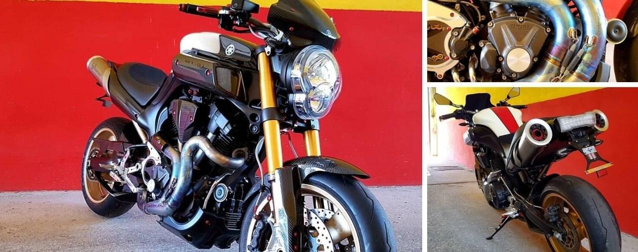 HK Technik importiert Yamaha MT-01 SP Komplettumbau