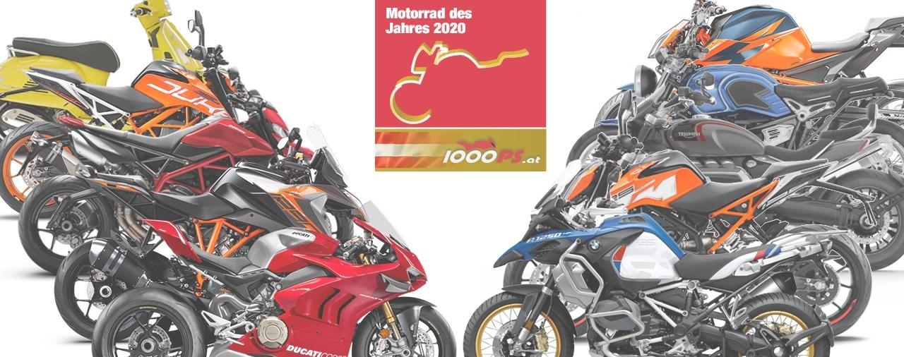 Motorrad des Jahres 2020 – die Ergebnisse!