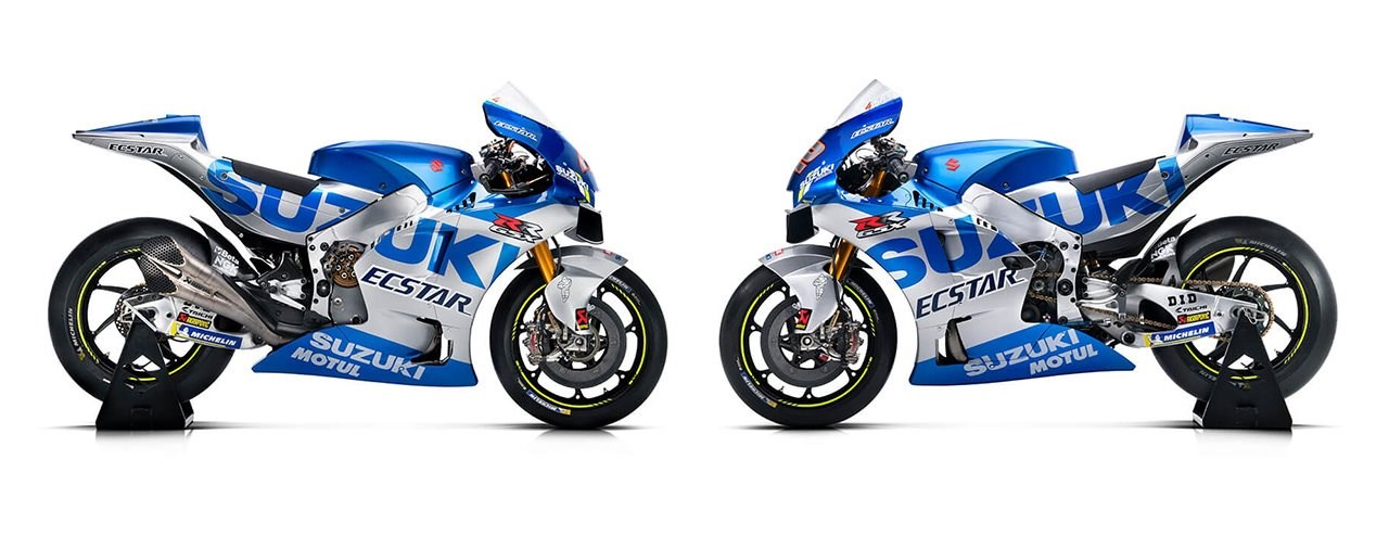 Suzuki präsentiert die MotoGP Teamfarben für 2020