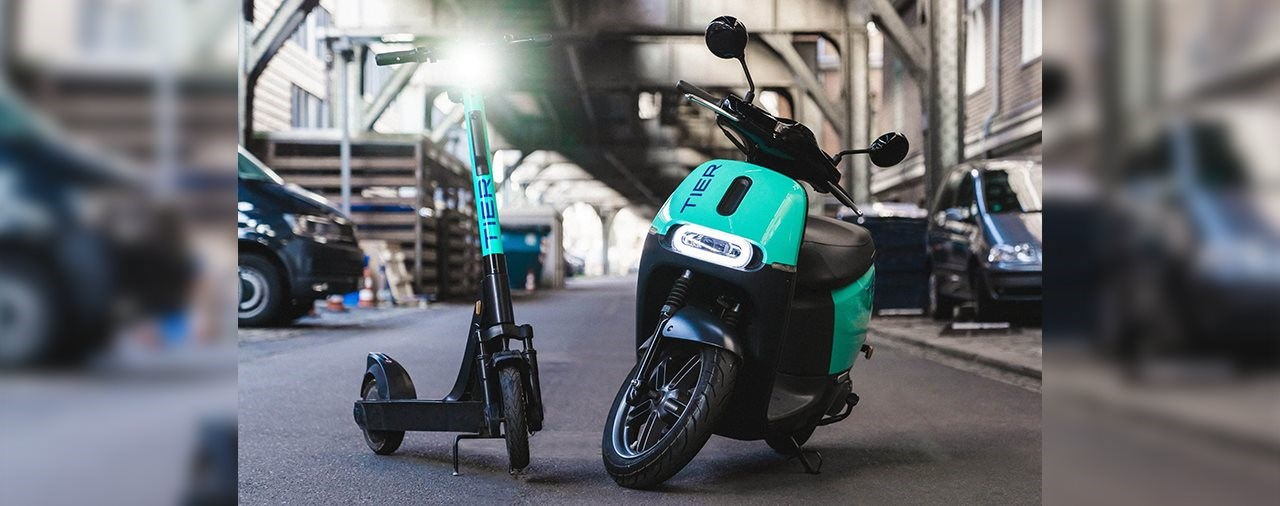 TIER Mobility kauf COUP E-Mopeds für Sharing-Angebot
