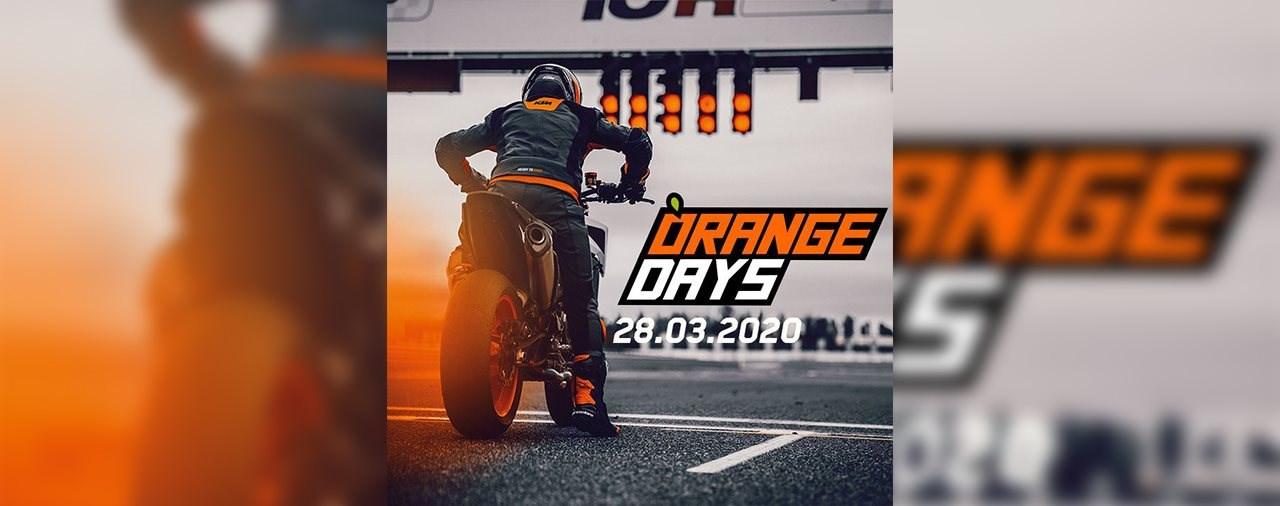 KTM Orange Day am 28. März 2020