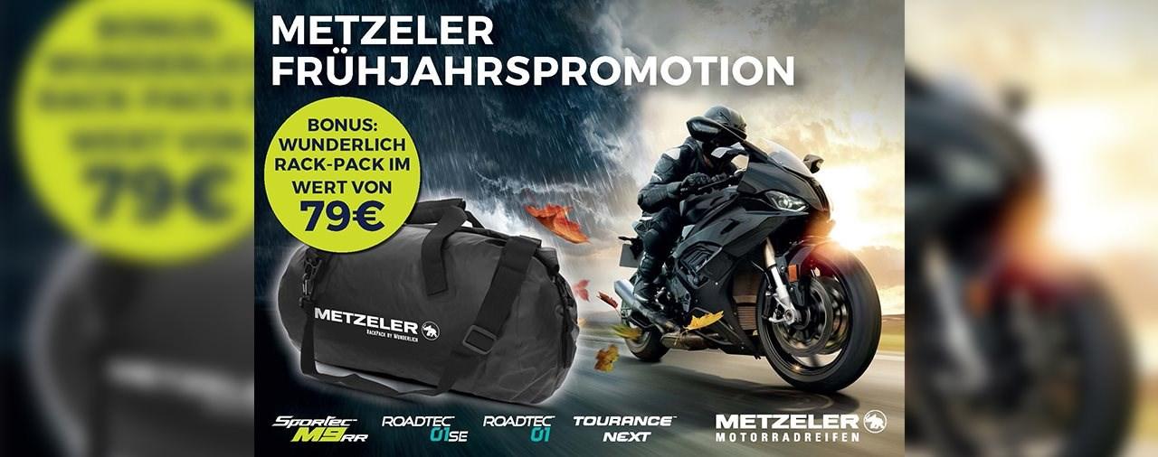 METZELER Frühjahrspromotion 2020: Wunderlich Tasche geschenkt!