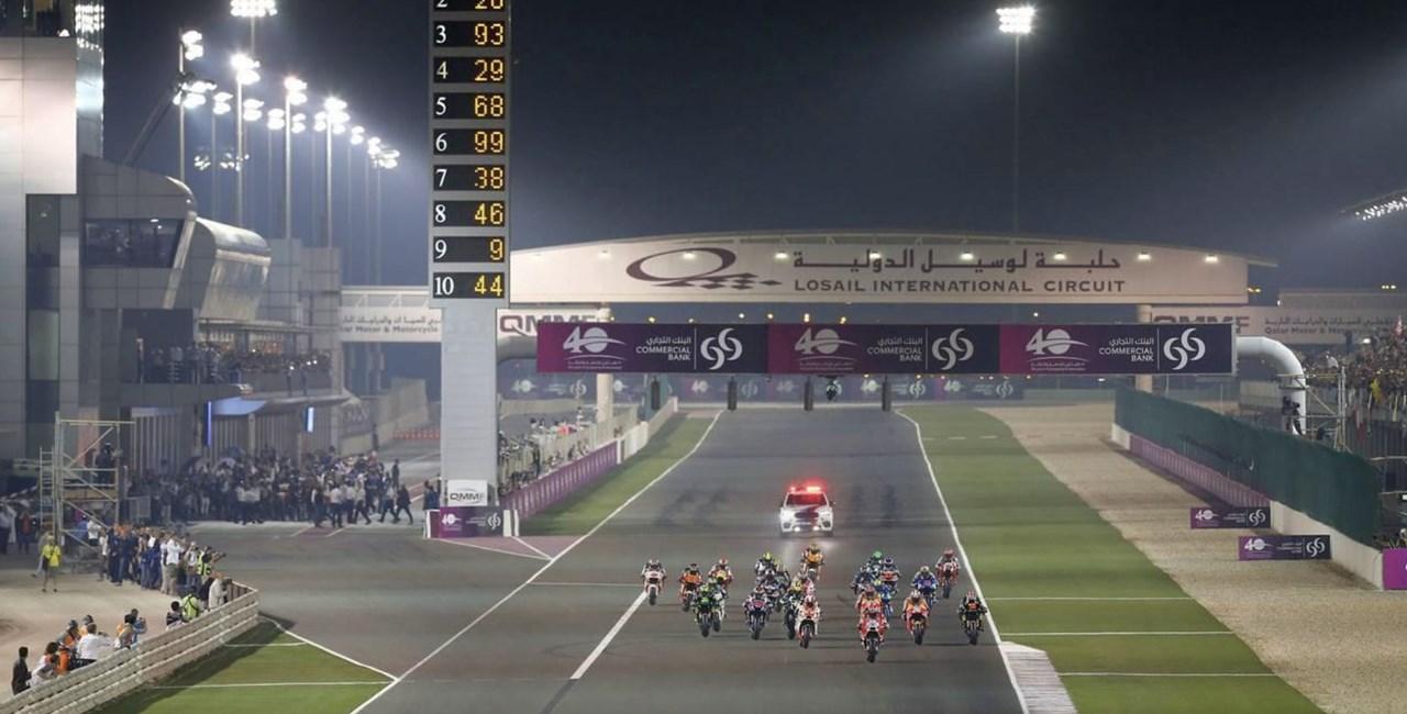 MotoGP Katar abgesagt
