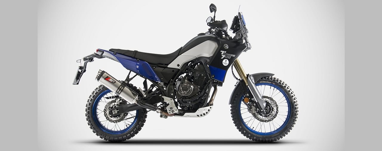 Zard Auspuff für die neue Yamaha Tenere 700
