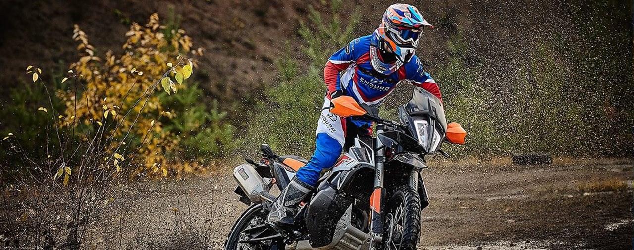 Kooperation zwischen KTM und dem Enduro Action Team