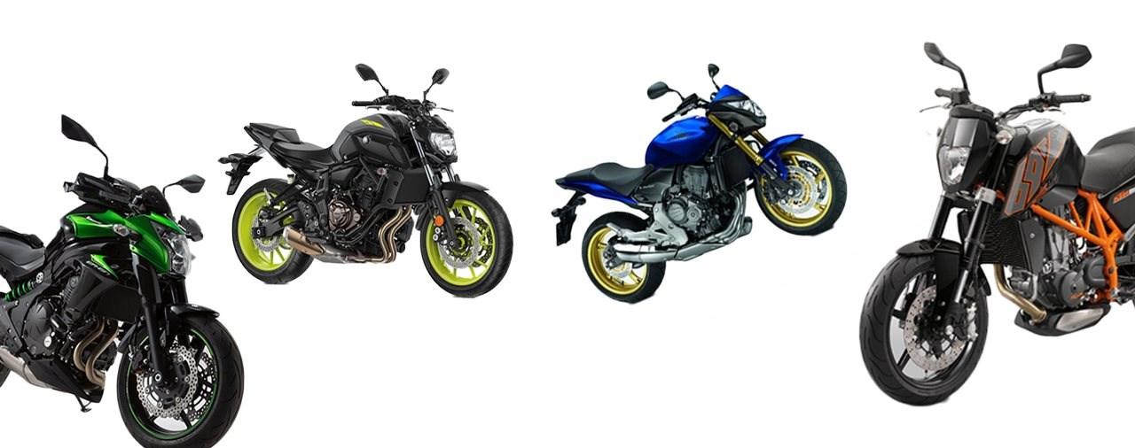 Top 5 Einsteiger Nakedbikes