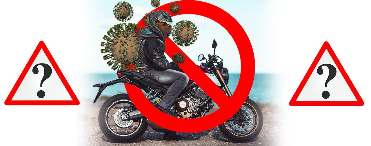 Motorrad Fahren Corona Nrw