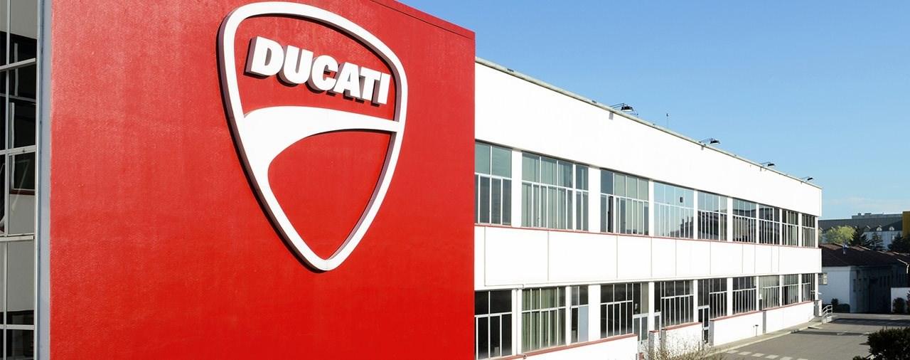 Ducati stellt die Produktion bis 25. März ein