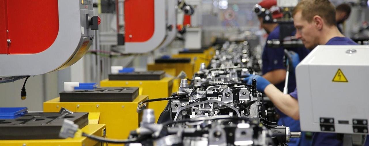 BMW Werk in Berlin-Spandau stoppt die Produktion