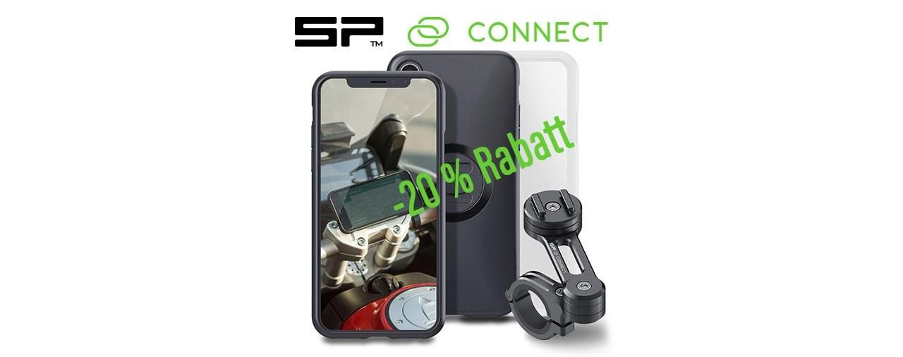 -20 % Rabatt auf SP Connect Motorrad-Produkte