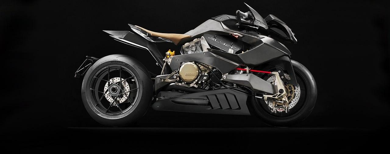 Vyrus - Science-Fiction-Ducati Umbauten mit Bimota-Genen