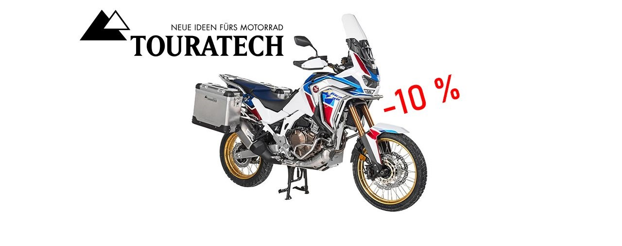 Touratech Osteraktion: -10 % auf alle Koffersysteme