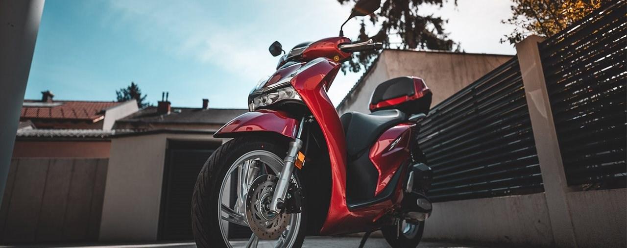 Honda SH125i 2020 Test
