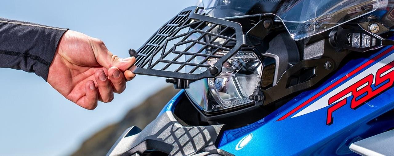 Wunderlich Scheinwerferschutz für die BMW F 850 GS Adventure