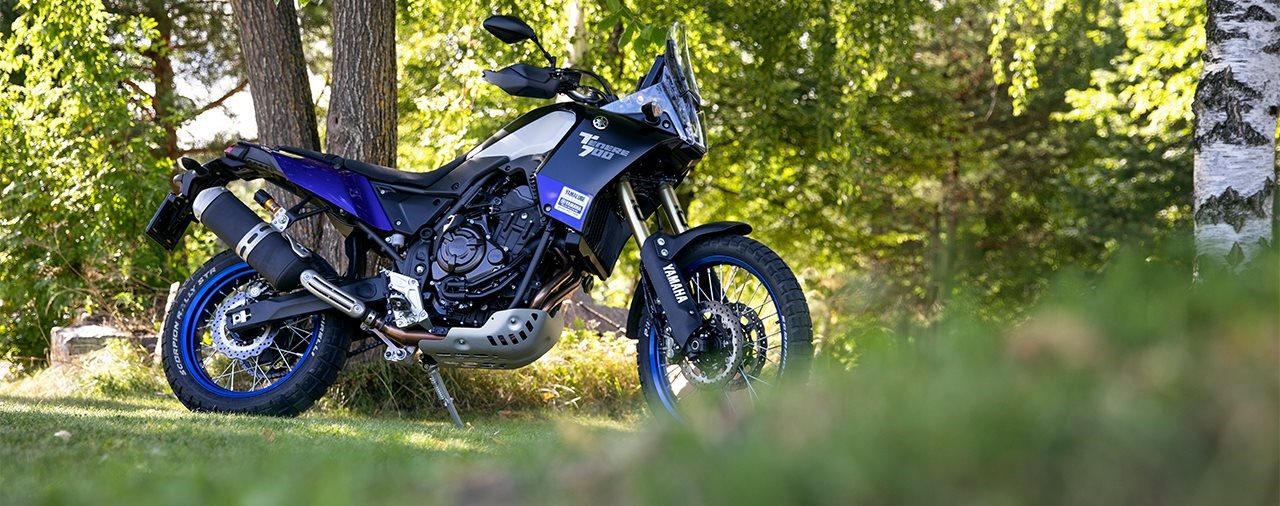 Öhlins Fahrwerk für das TuneUp-Projekt der Yamaha Tenere 700