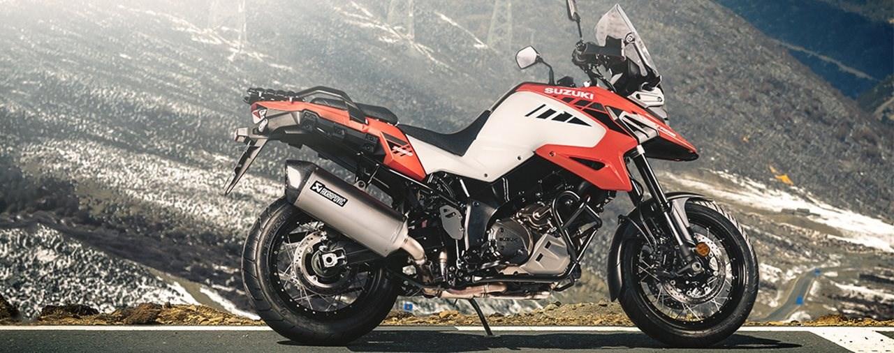 Akrapovič Auspuffanlage für die Suzuki V-Strom 1050 / XT