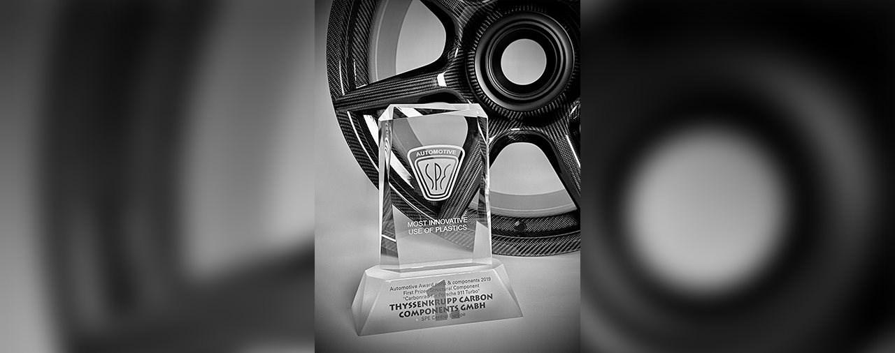 Carbon-Experte ThyssenKrupp erhält Innovations-Award