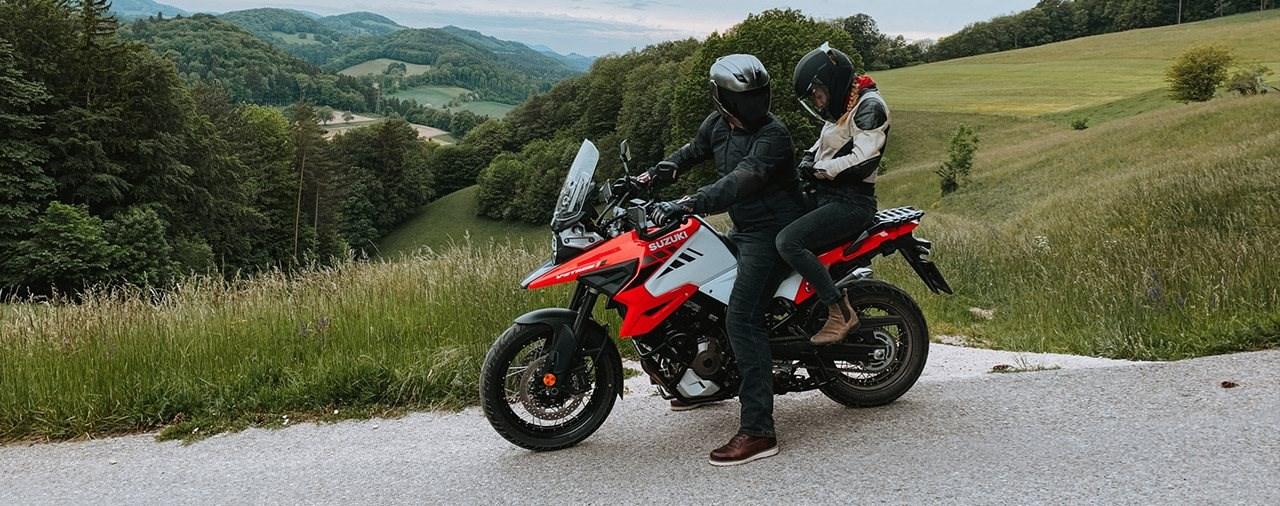Suzuki V-Strom 1050 XT - Erster Test mit Sozius 2020