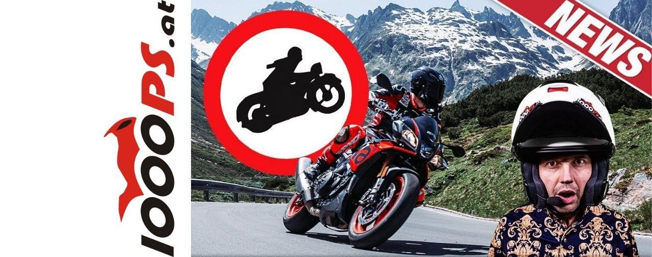 Tirol Motorrad Fahrverbote