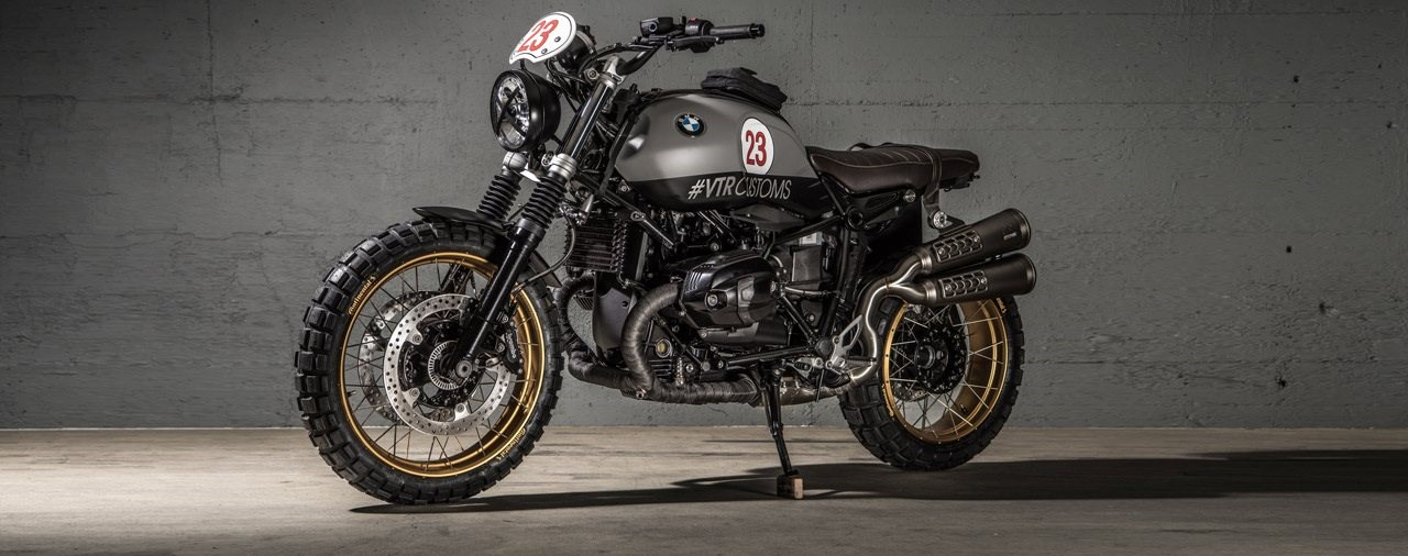 BMW R NineT Flat Rate Customizing Konzept von VTR Customs
