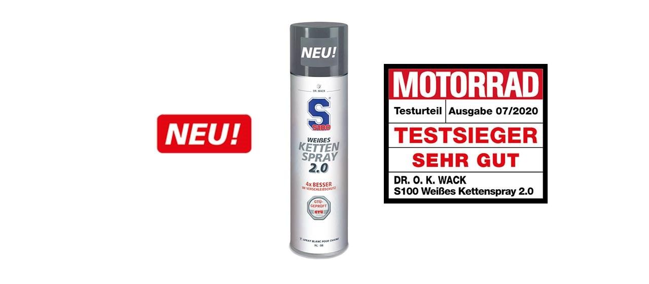 S100 Weißes Kettenspray 2.0