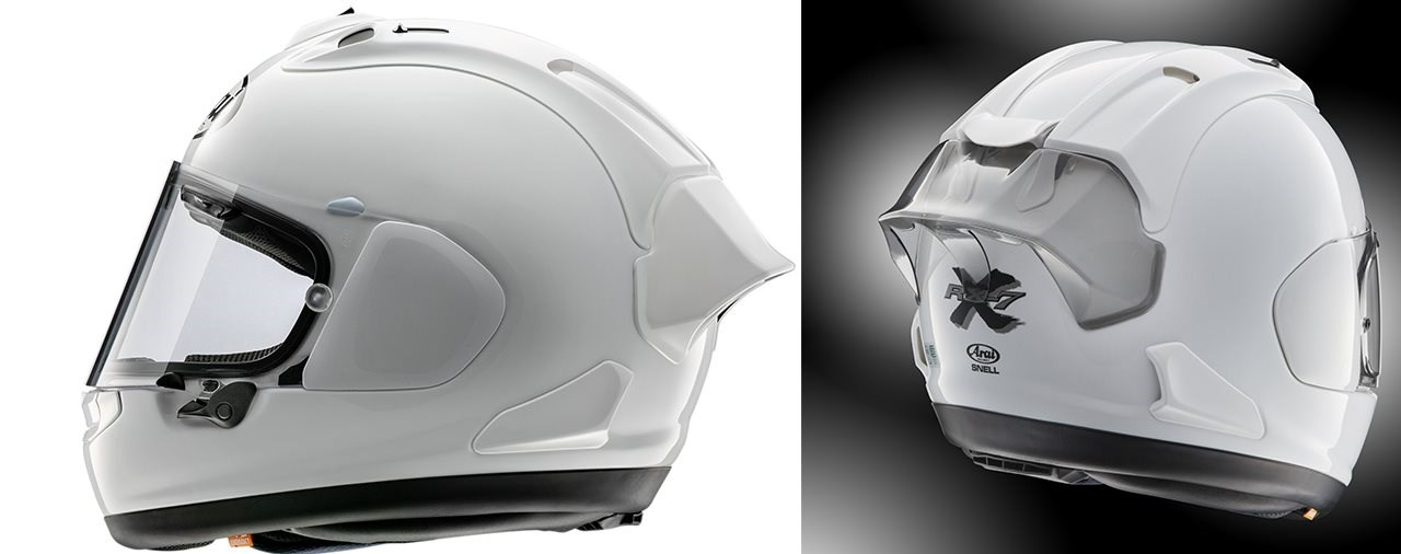 Arai RX-7V Diffusor-Verlängerung 2020