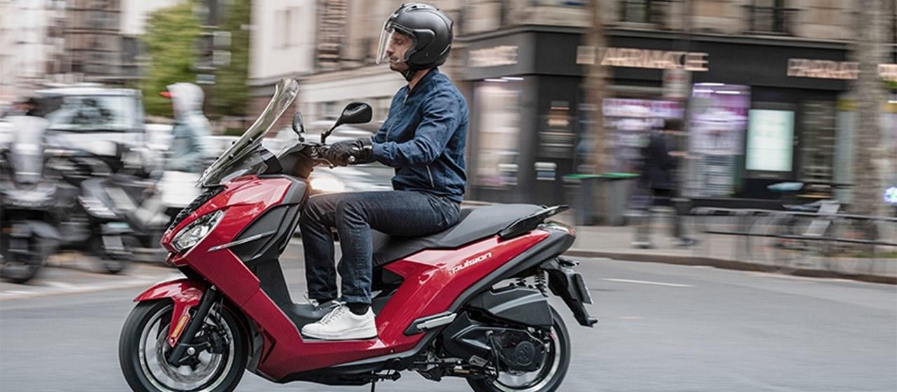 Motorroller - Starker Partner in der Stadt!