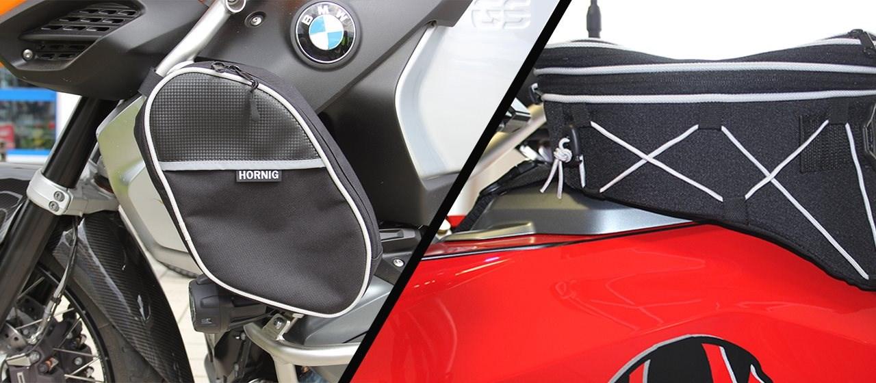 Tankrucksack BMW F900R/XR & Sturzbügel-Taschen BMW R1250GS