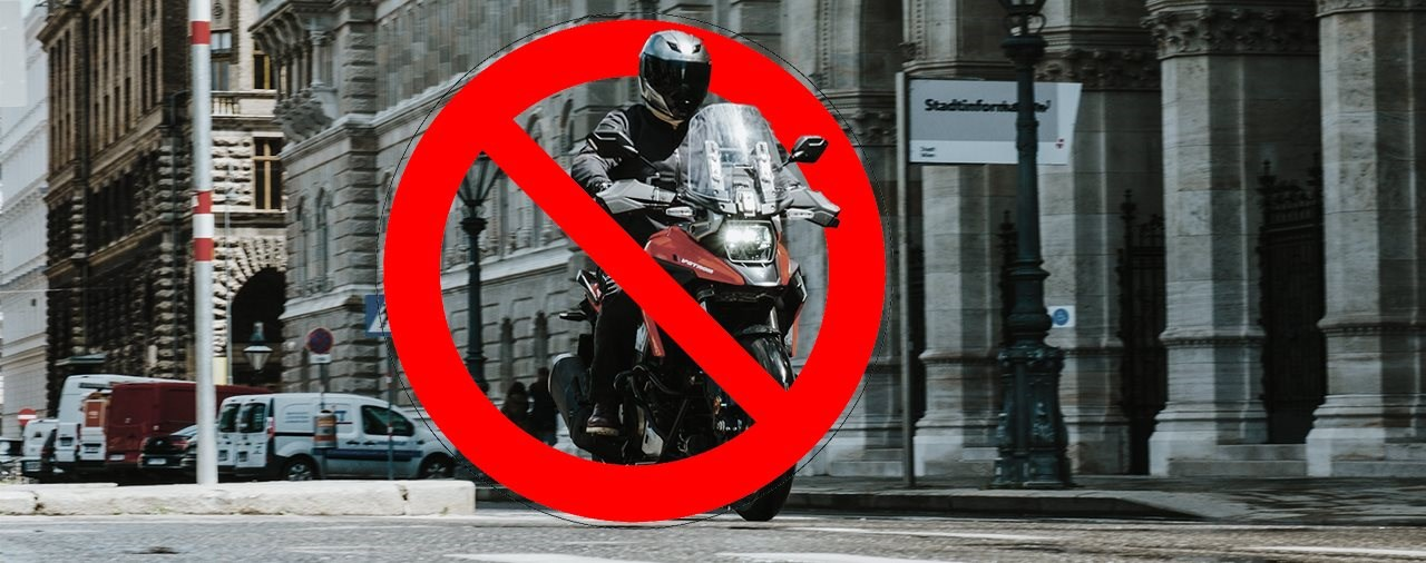 Motorrad Fahrverbot in der Wiener Innenstadt kommt
