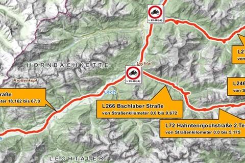 Motorrad Fahrverbot Tirol