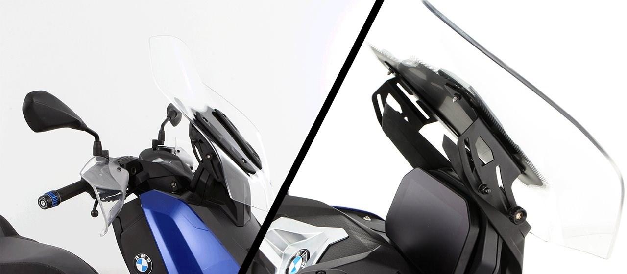 """Wunderlich Scheibenverstellung """"VARIO"""" für BMW C400X und C400GT"""