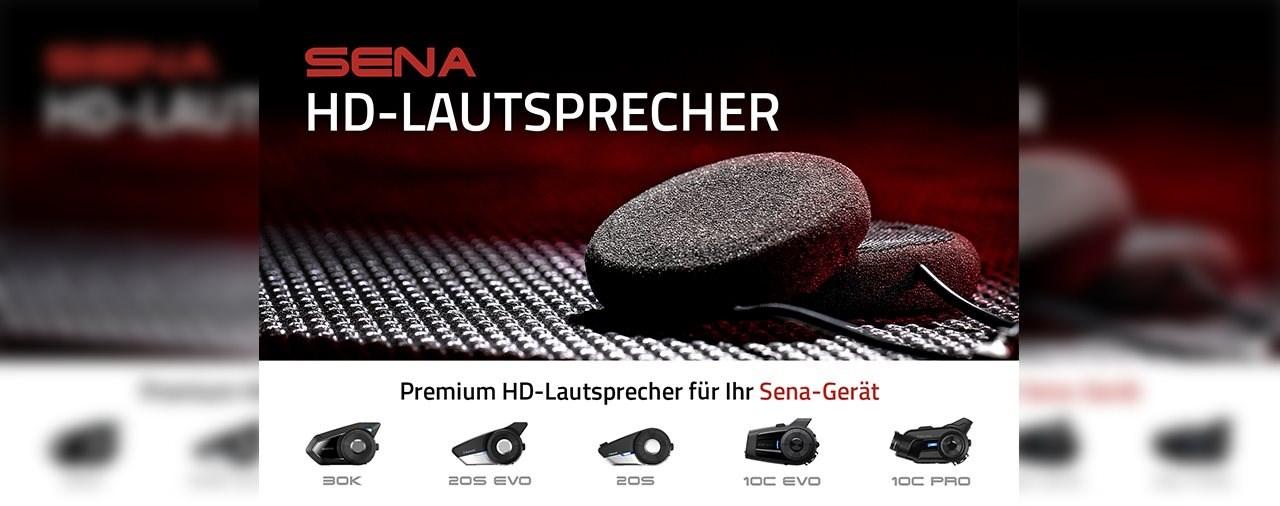 Sena bringt neues HD-Lautsprecher-Kit auf den Markt
