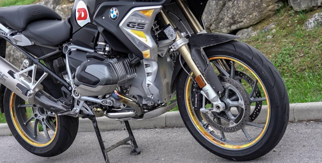 Dunlop SportSmart TT im Reiseenduro Test