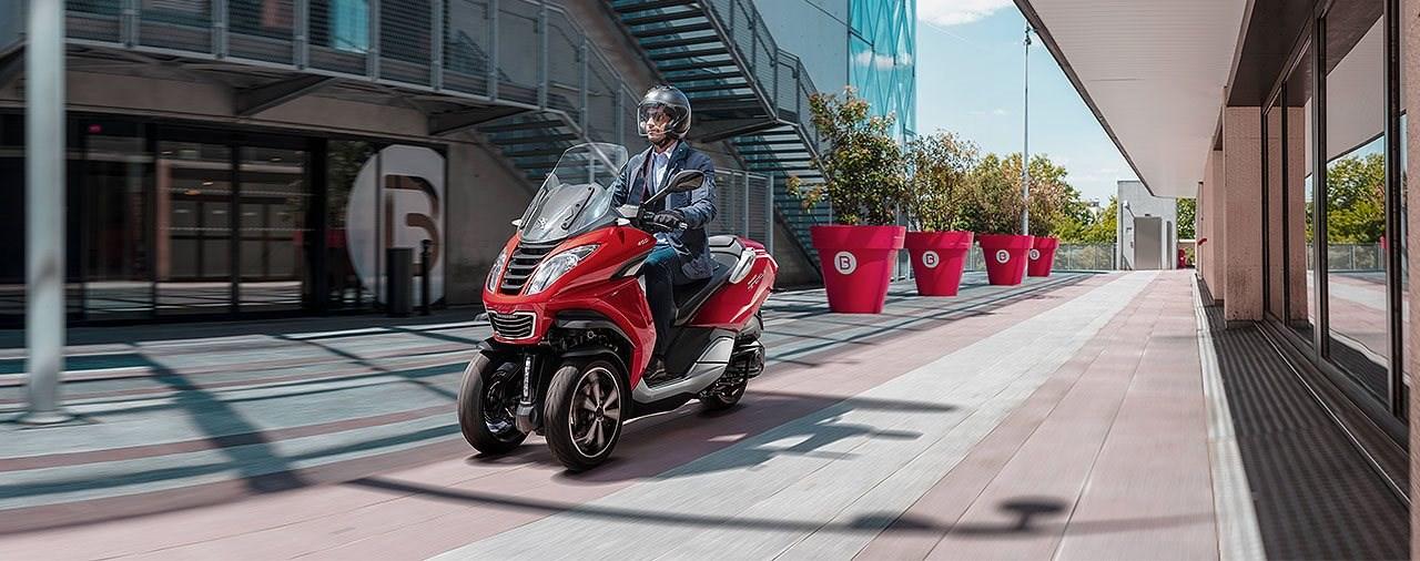 Augen auf beim Rollerkauf - Peugeots breite Palette