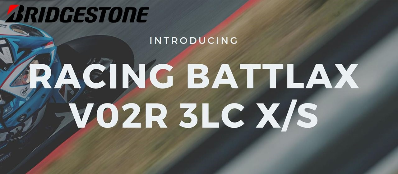 Bridgestone Racing Battlax V02R 3LC X/S