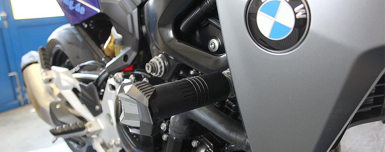 Schlüsseltasche mit RFID-Blocker & Sturzpads BMW F900R