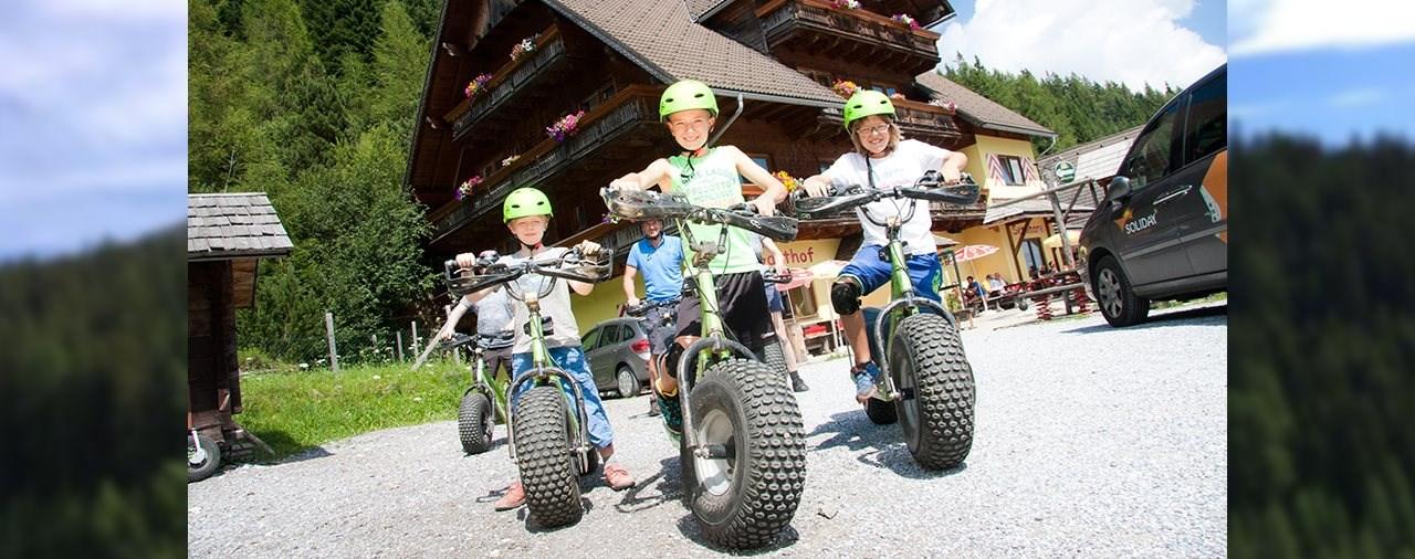 Trialmotorrad Urlaub in der Steiermark